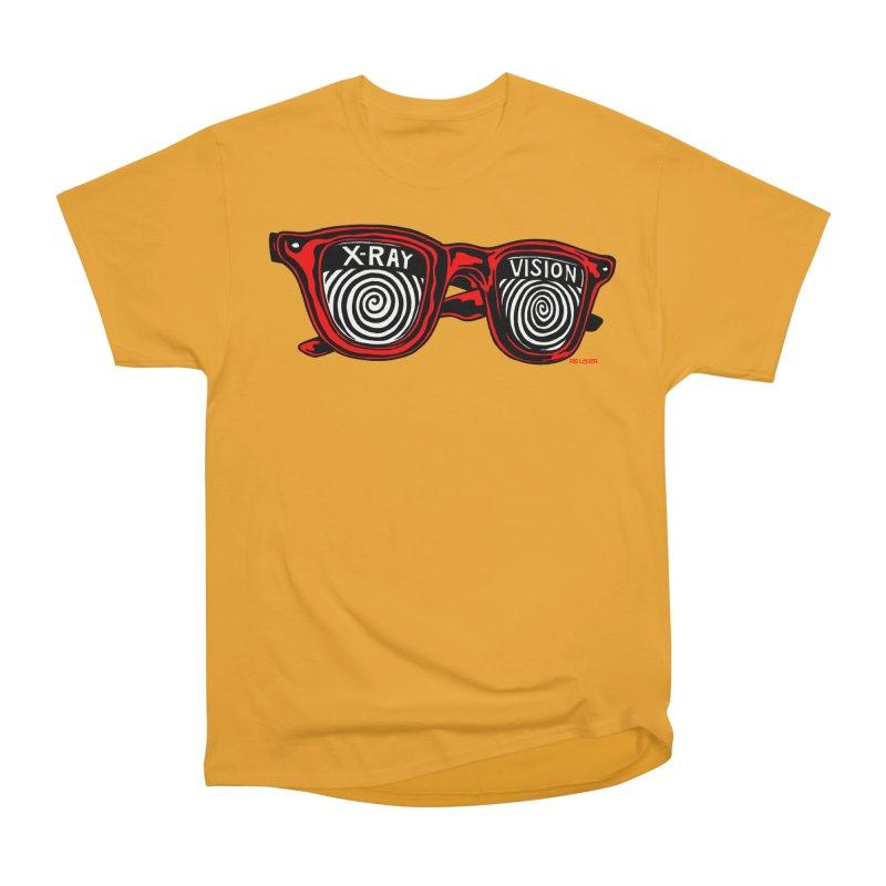 X-RAY Vision Women's Heavyweight Unisex T-Shirt by redleggerstudio's Shop
