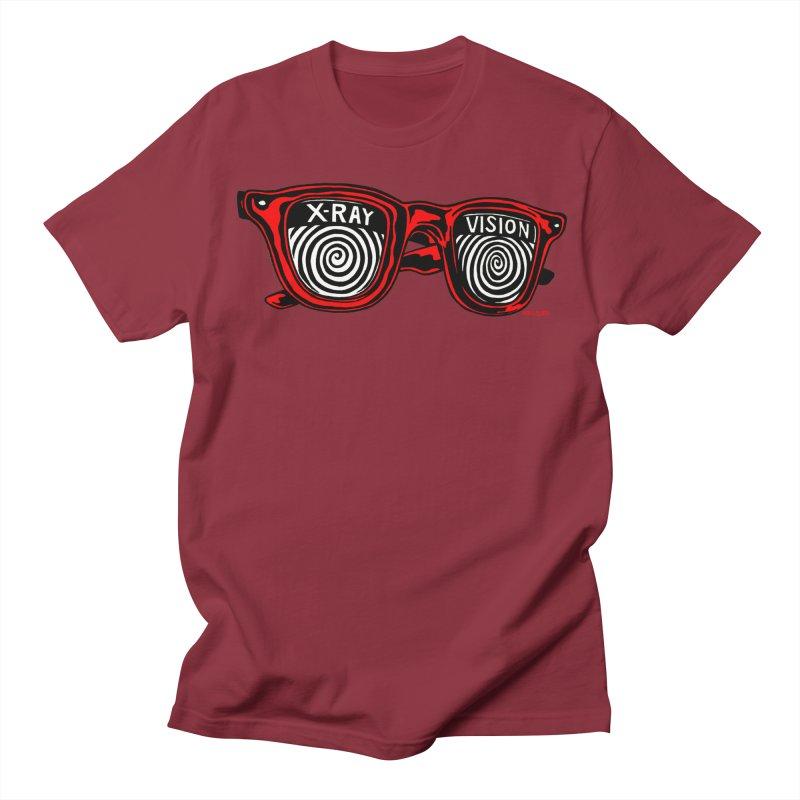 X-RAY Vision Women's Regular Unisex T-Shirt by redleggerstudio's Shop