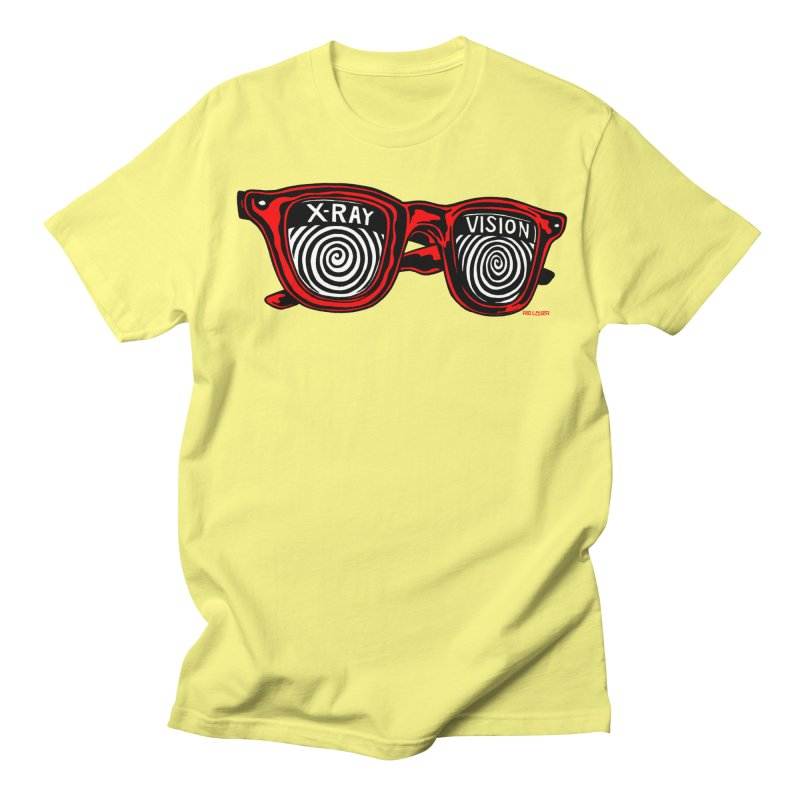 X-RAY Vision Men's Regular T-Shirt by redleggerstudio's Shop