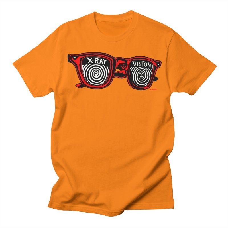 X-RAY Vision Men's T-Shirt by redleggerstudio's Shop