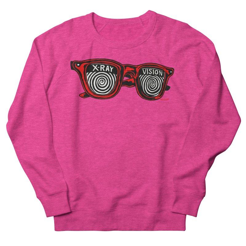 X-RAY Vision Women's French Terry Sweatshirt by redleggerstudio's Shop