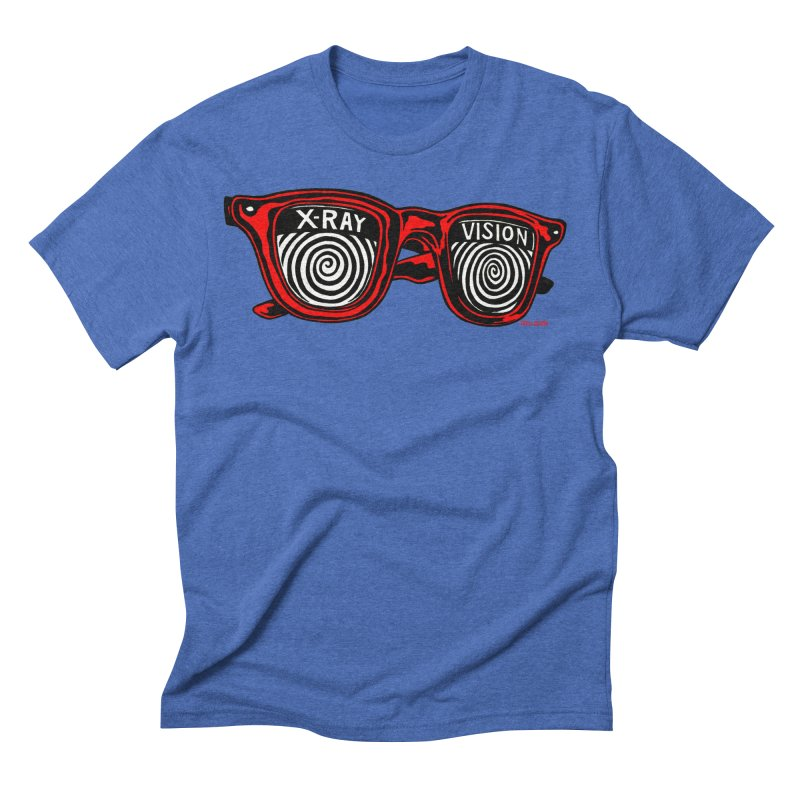 X-RAY Vision Men's Triblend T-Shirt by redleggerstudio's Shop