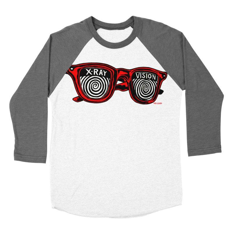 X-RAY Vision Women's Baseball Triblend T-Shirt by redleggerstudio's Shop