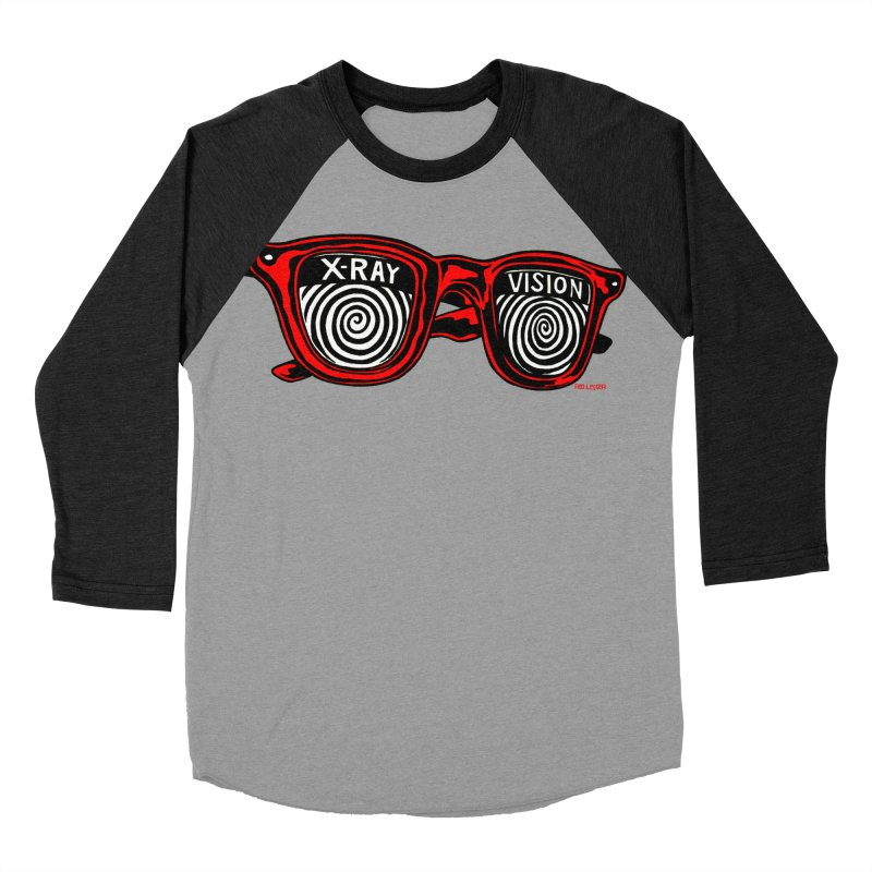 X-RAY Vision Men's Baseball Triblend T-Shirt by redleggerstudio's Shop