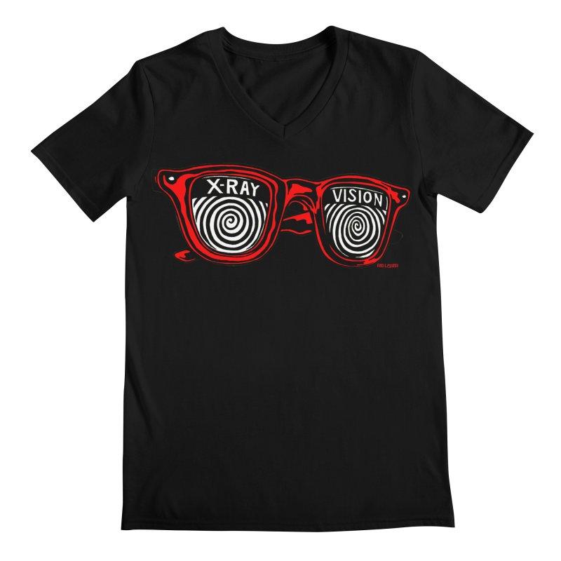 X-RAY Vision Men's V-Neck by redleggerstudio's Shop