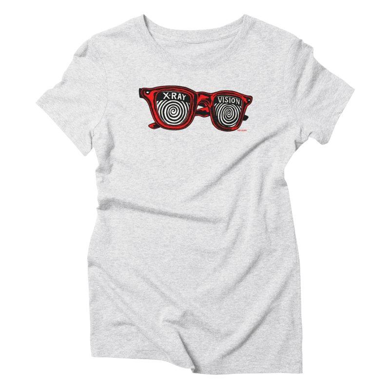 X-RAY Vision Women's Triblend T-Shirt by redleggerstudio's Shop