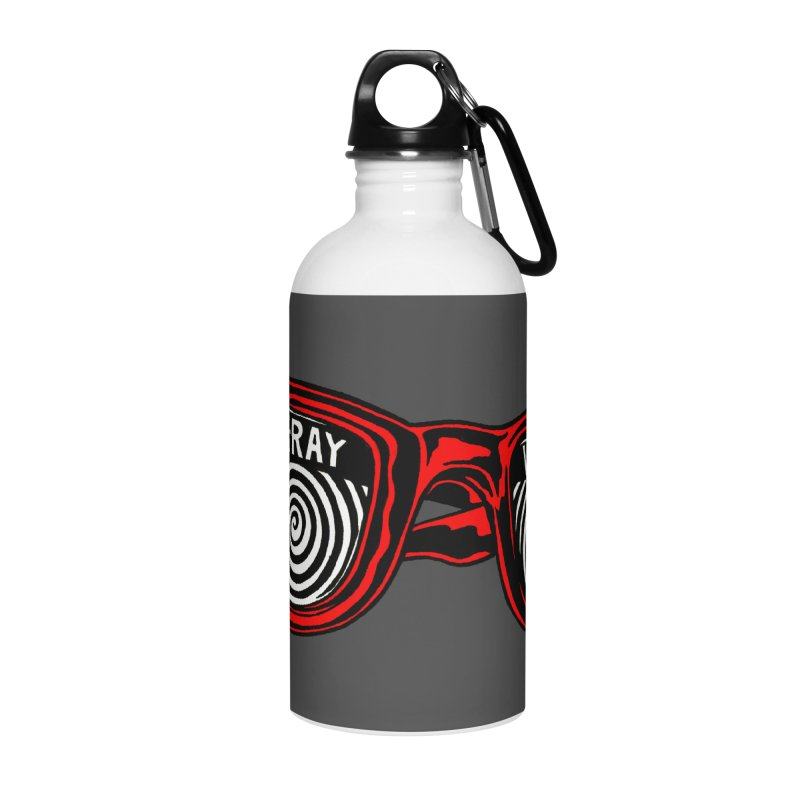 X-RAY Vision Accessories Water Bottle by redleggerstudio's Shop