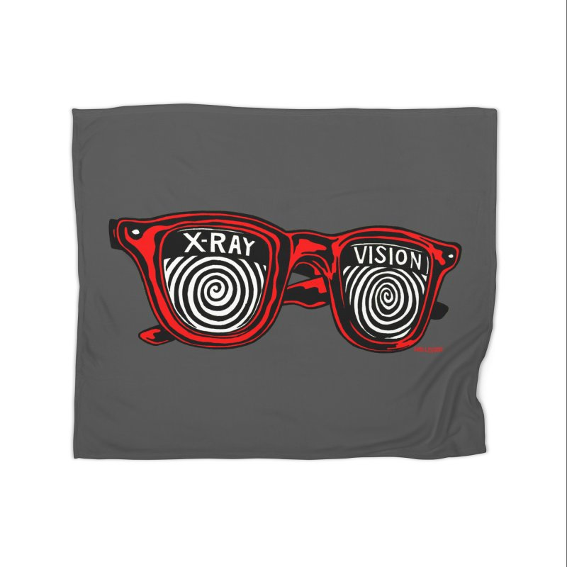 X-RAY Vision Home Blanket by redleggerstudio's Shop