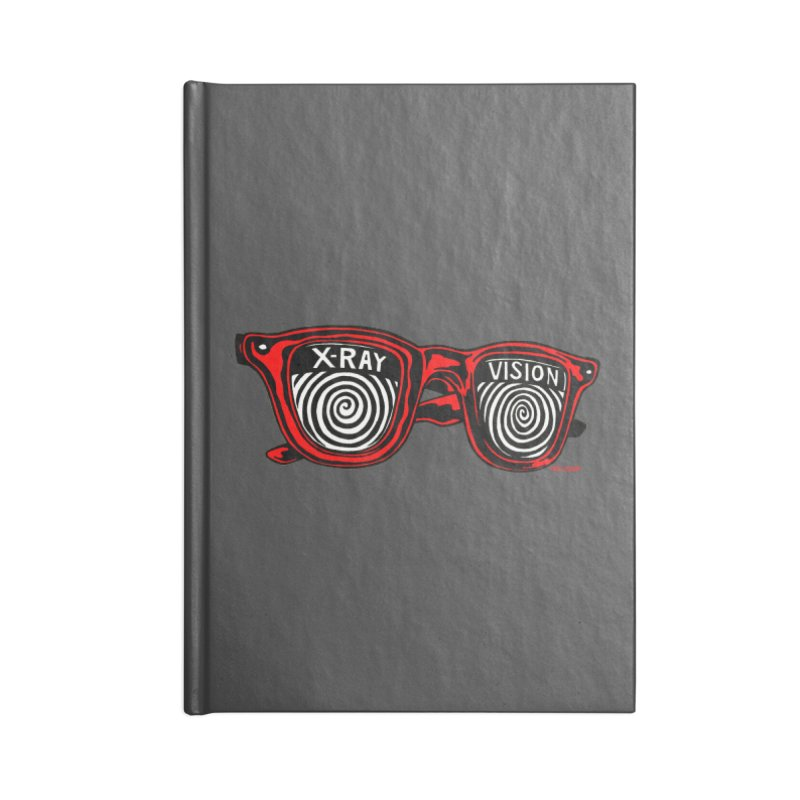 X-RAY Vision Accessories Notebook by redleggerstudio's Shop