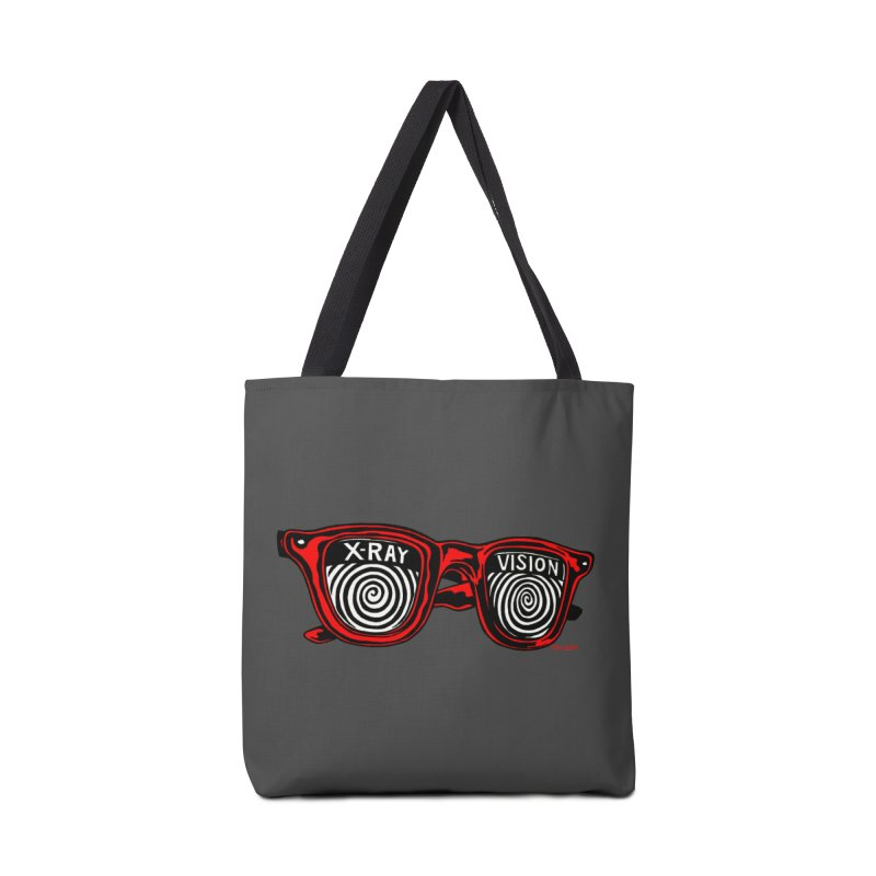 X-RAY Vision Accessories Bag by redleggerstudio's Shop