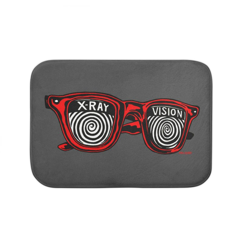 X-RAY Vision Home Bath Mat by redleggerstudio's Shop