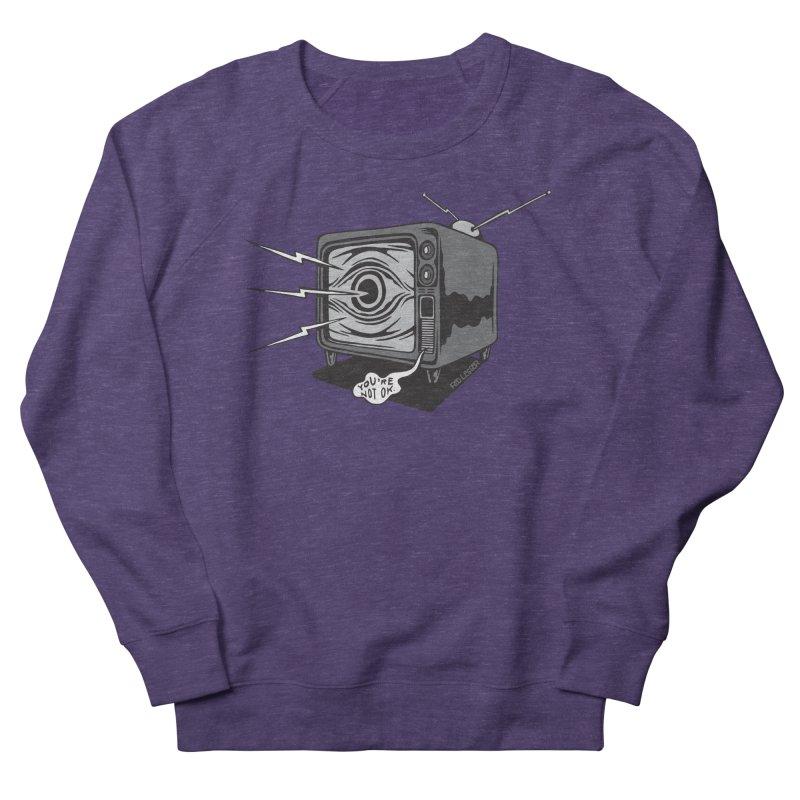 TV Time Women's Sweatshirt by redleggerstudio's Shop
