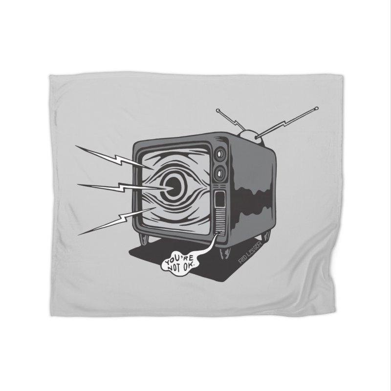 TV Time Home Blanket by redleggerstudio's Shop