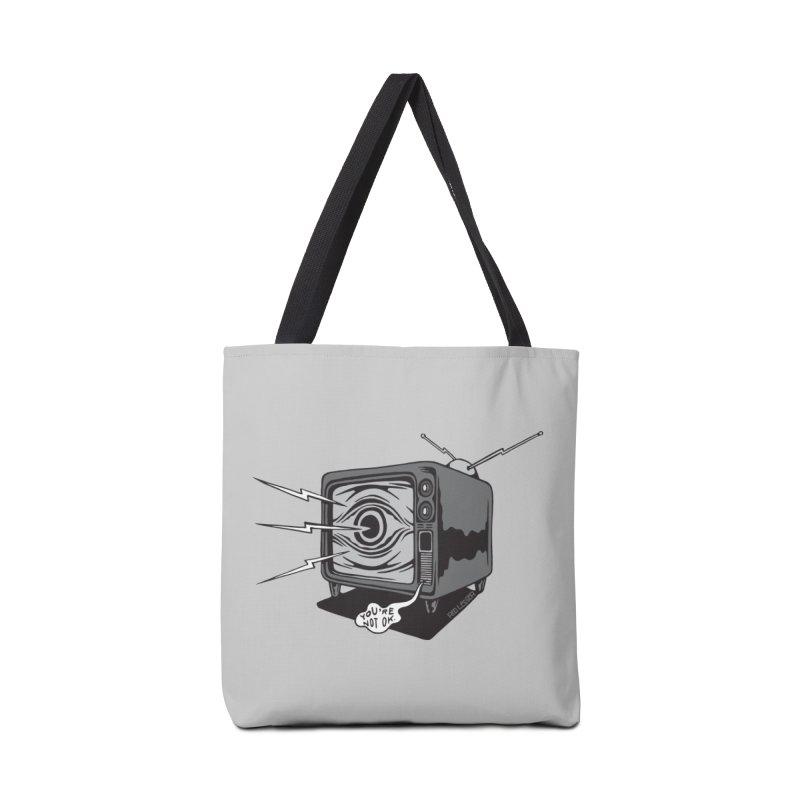 TV Time Accessories Bag by redleggerstudio's Shop