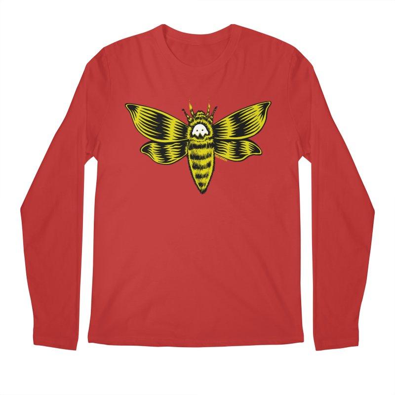 Death's Head Men's Longsleeve T-Shirt by redleggerstudio's Shop