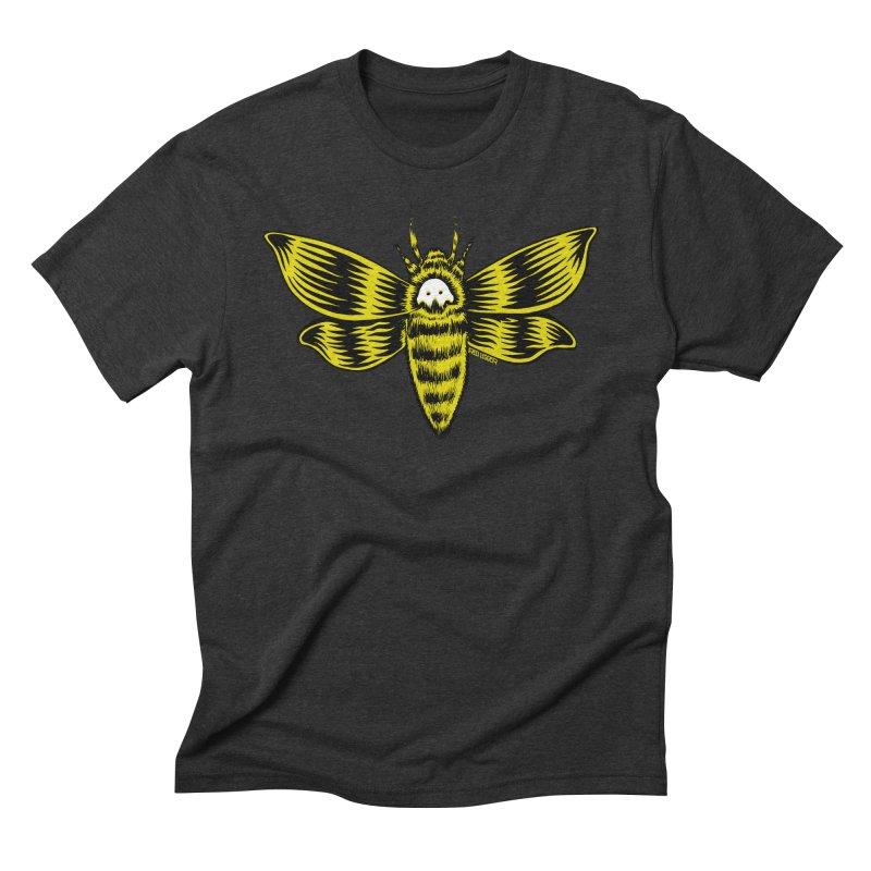 Death's Head Men's Triblend T-Shirt by redleggerstudio's Shop