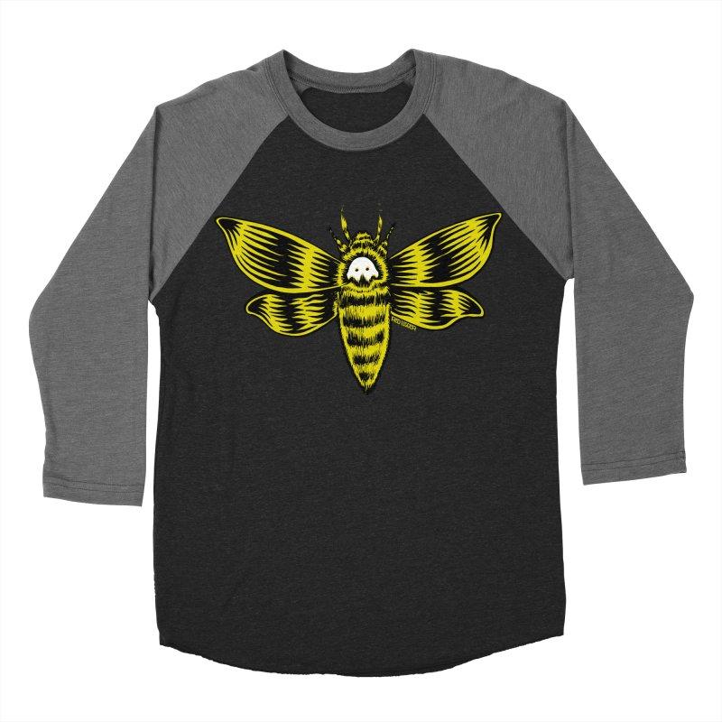 Death's Head Women's Baseball Triblend T-Shirt by redleggerstudio's Shop