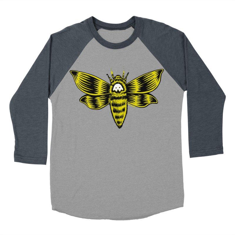 Death's Head Men's Baseball Triblend T-Shirt by redleggerstudio's Shop