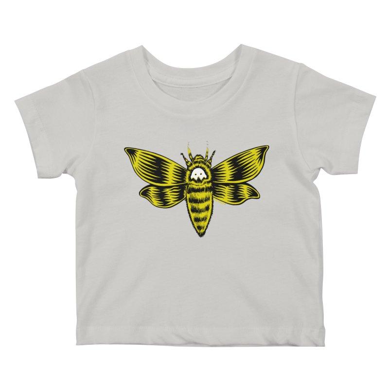Death's Head Kids Baby T-Shirt by redleggerstudio's Shop