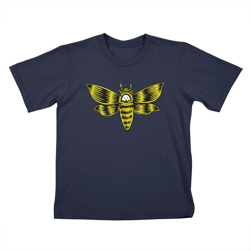 Death's Head Kids Toddler T-Shirt by redleggerstudio's Shop