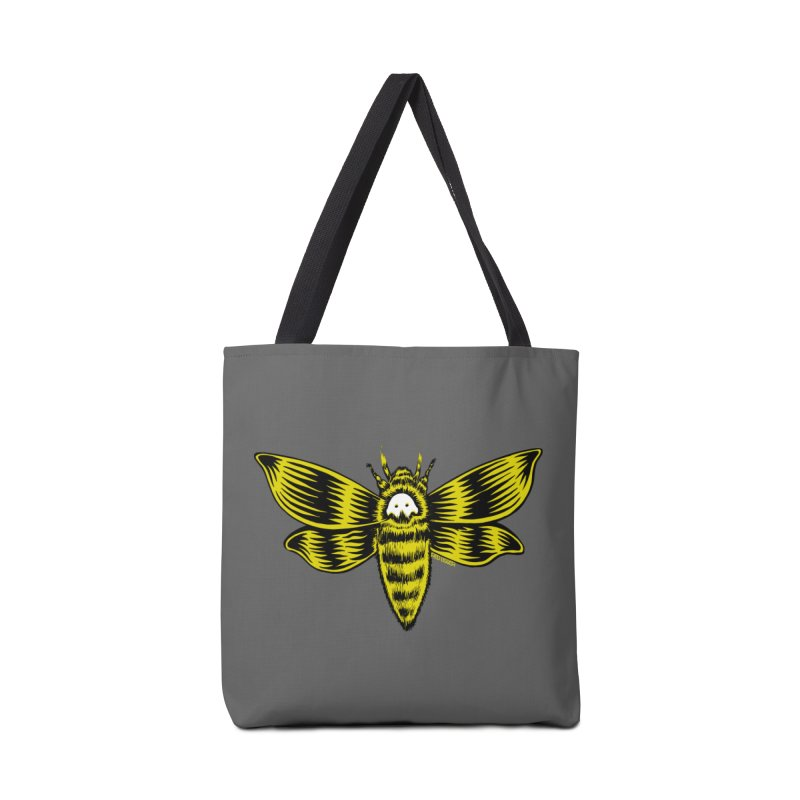 Death's Head Accessories Bag by redleggerstudio's Shop