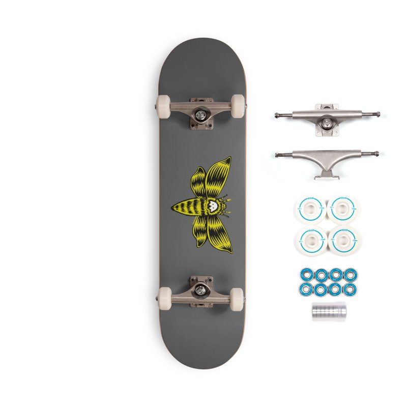 Death's Head Accessories Complete - Basic Skateboard by redleggerstudio's Shop