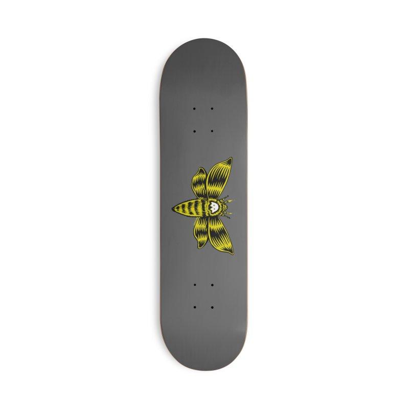 Death's Head Accessories Deck Only Skateboard by redleggerstudio's Shop