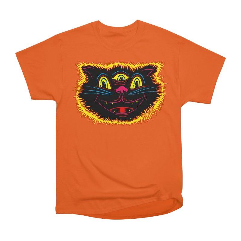 Black Cat Men's Classic T-Shirt by redleggerstudio's Shop