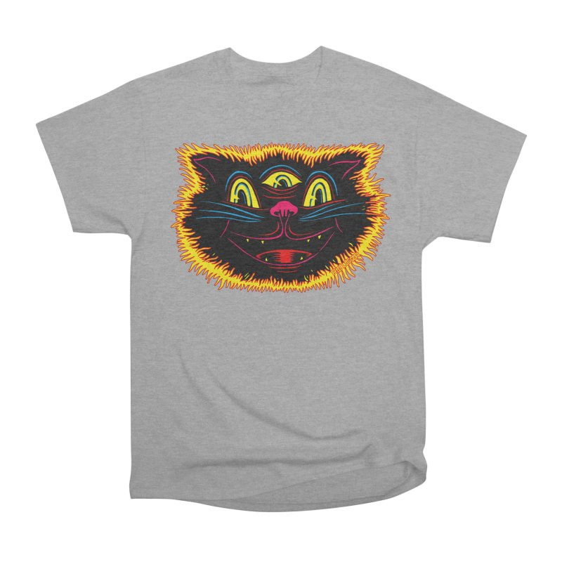 Black Cat Women's Classic Unisex T-Shirt by redleggerstudio's Shop