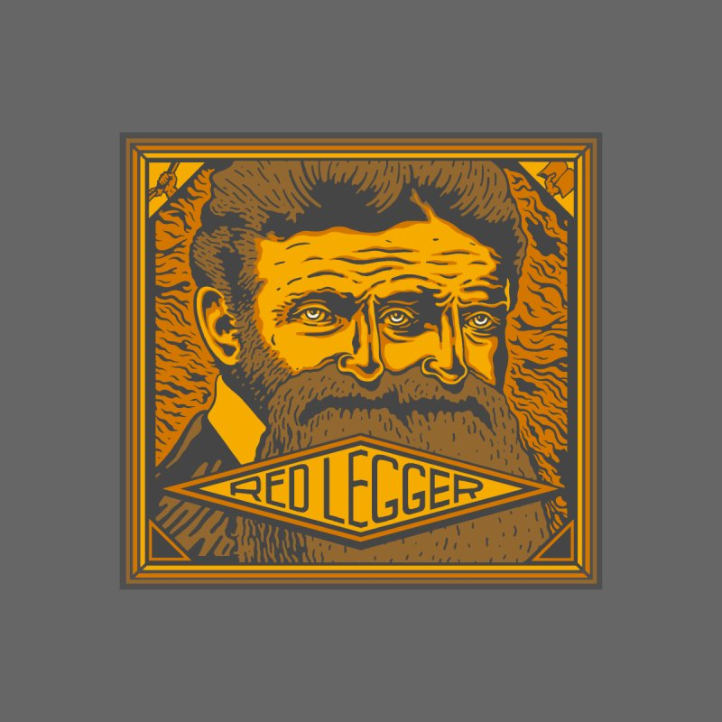 Red Legger - John Brown Men's T-Shirt by redleggerstudio's Shop