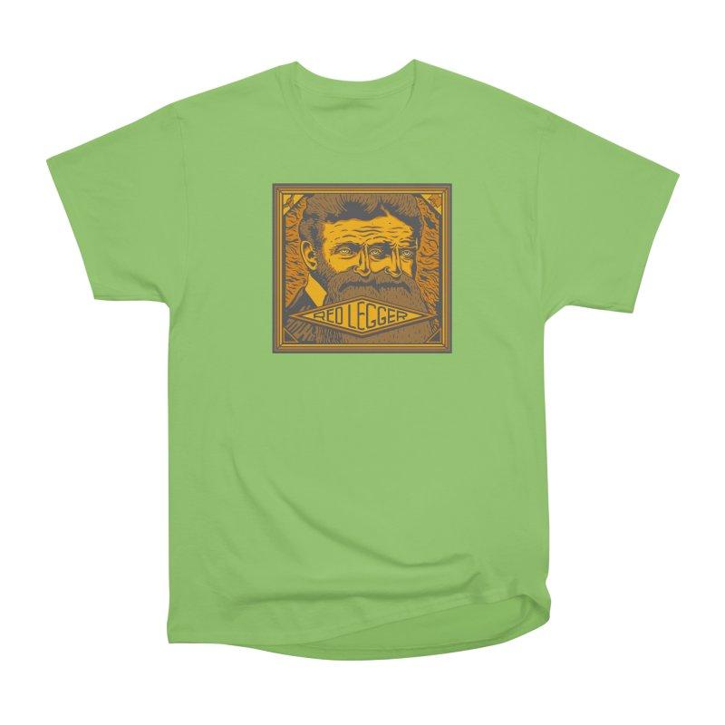 Red Legger - John Brown Men's Heavyweight T-Shirt by redleggerstudio's Shop