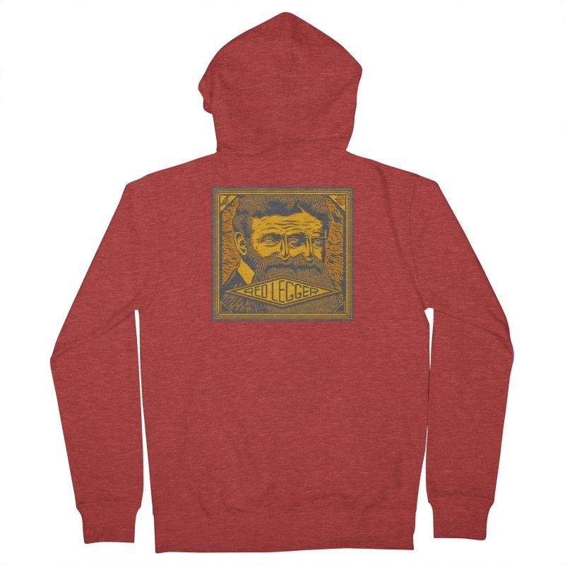 Red Legger - John Brown Men's French Terry Zip-Up Hoody by redleggerstudio's Shop