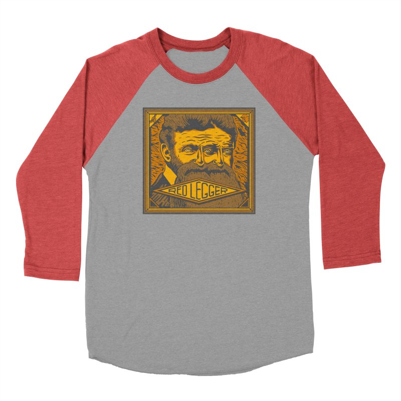 Red Legger - John Brown Women's Baseball Triblend Longsleeve T-Shirt by redleggerstudio's Shop