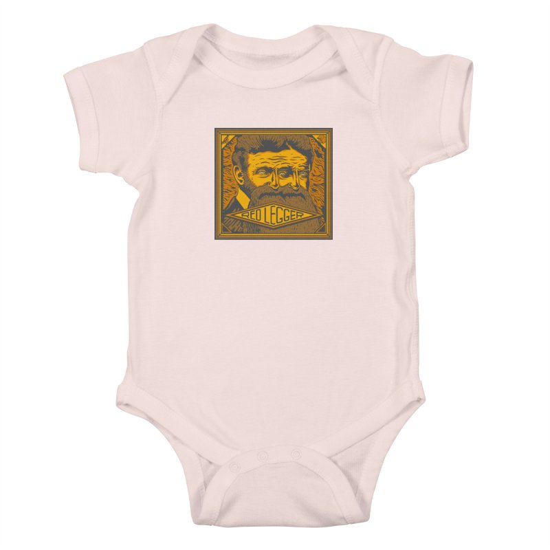 Red Legger - John Brown Kids Baby Bodysuit by redleggerstudio's Shop