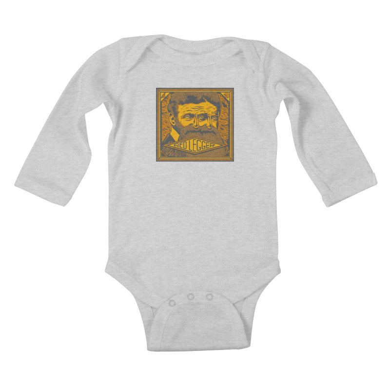 Red Legger - John Brown Kids Baby Longsleeve Bodysuit by redleggerstudio's Shop
