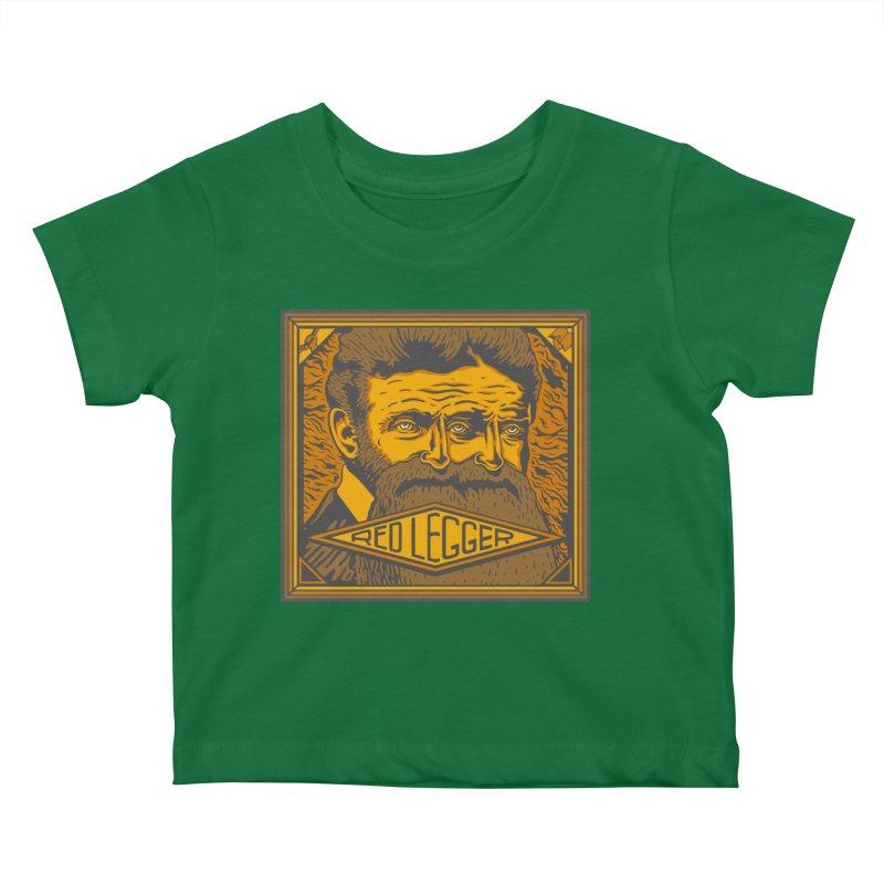 Red Legger - John Brown Kids Baby T-Shirt by redleggerstudio's Shop