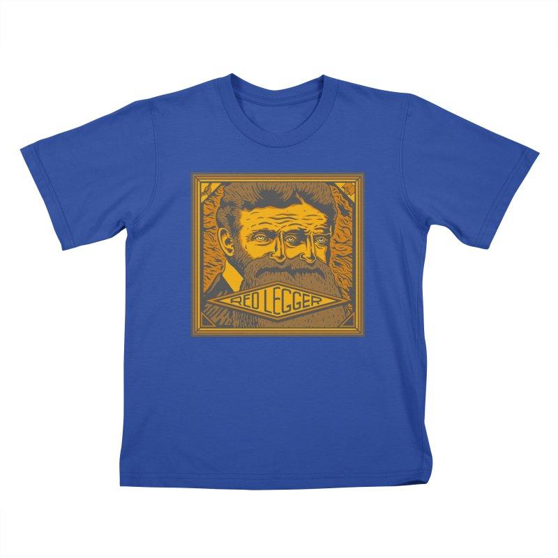 Red Legger - John Brown Kids T-Shirt by redleggerstudio's Shop