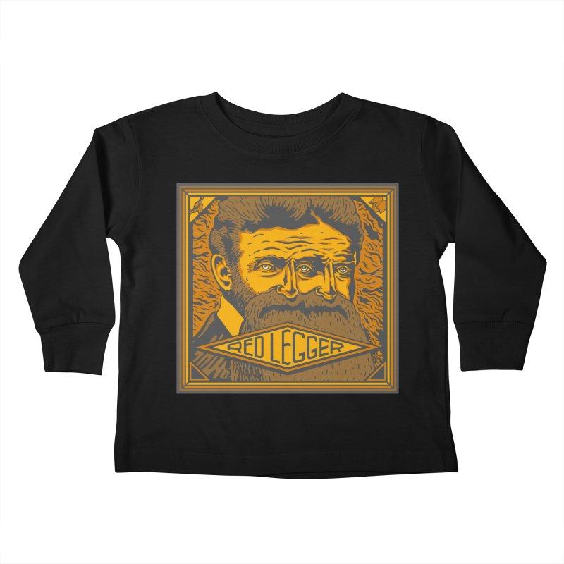 Red Legger - John Brown Kids Toddler Longsleeve T-Shirt by redleggerstudio's Shop