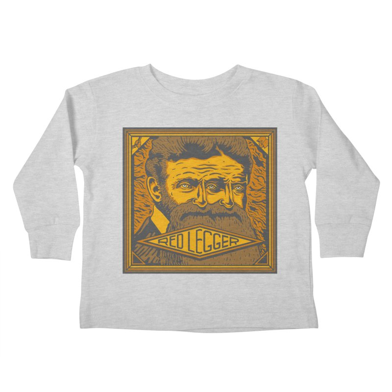 Red Legger - John Brown Kids Toddler Longsleeve T-Shirt by redleggerstudio's Shop