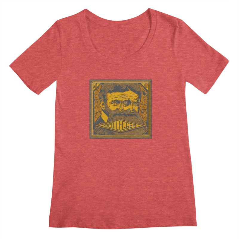 Red Legger - John Brown Women's Regular Scoop Neck by redleggerstudio's Shop
