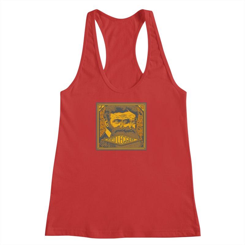 Red Legger - John Brown Women's Racerback Tank by redleggerstudio's Shop