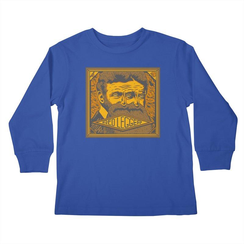 Red Legger - John Brown Kids Longsleeve T-Shirt by redleggerstudio's Shop