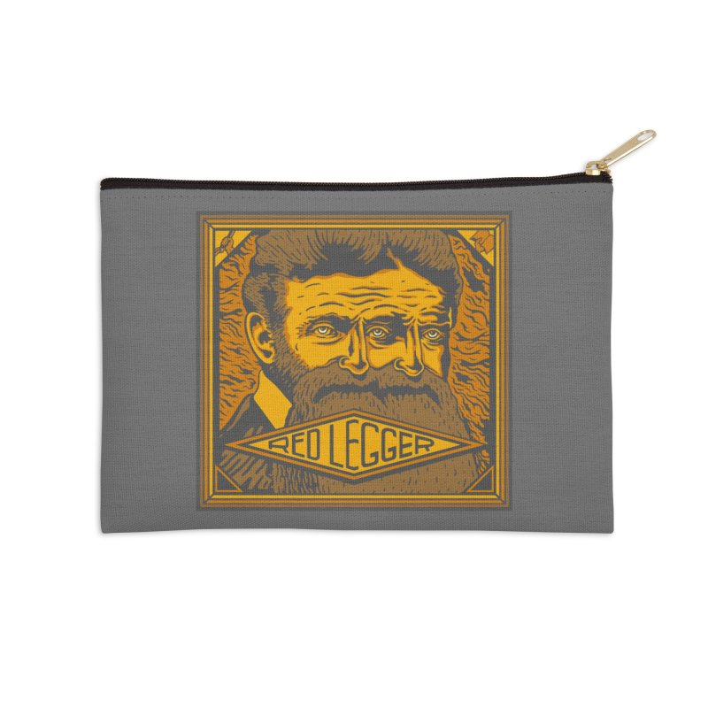 Red Legger - John Brown Accessories Zip Pouch by redleggerstudio's Shop