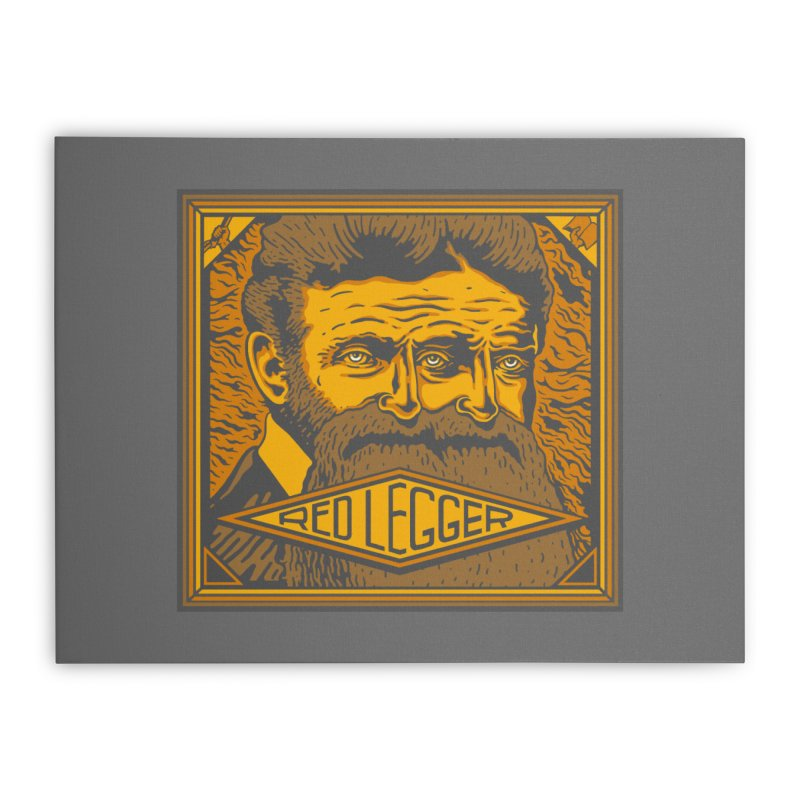 Red Legger - John Brown Home Stretched Canvas by redleggerstudio's Shop