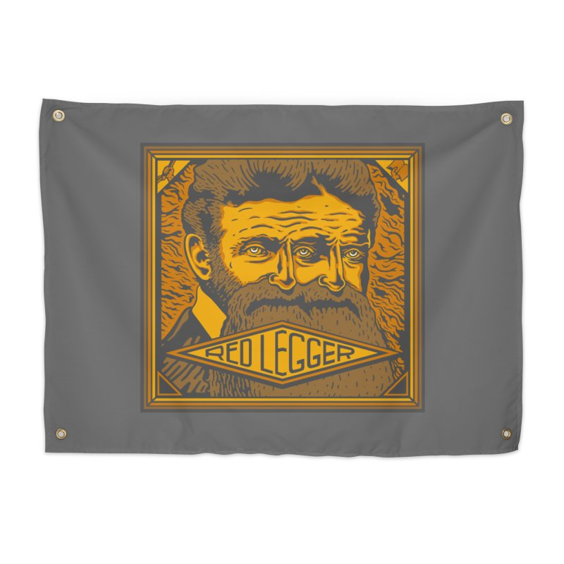 Red Legger - John Brown Home Tapestry by redleggerstudio's Shop