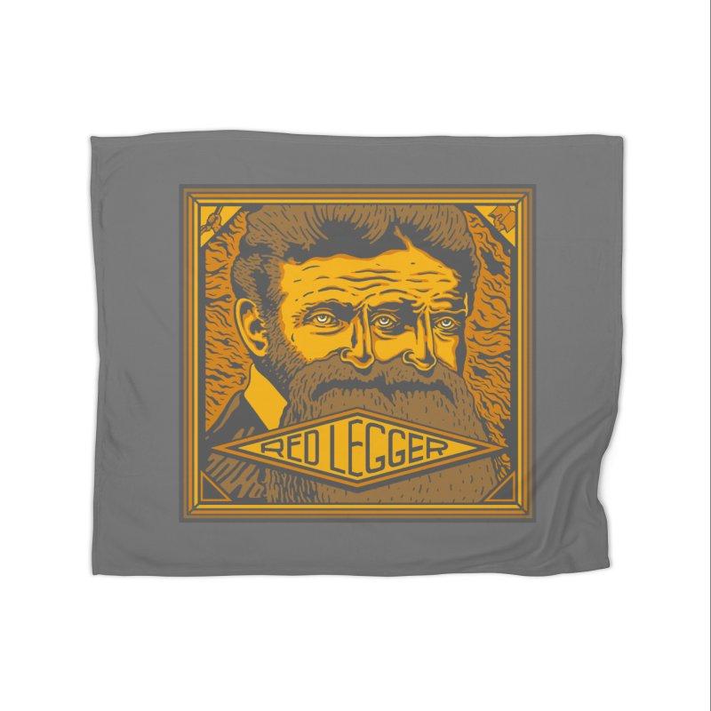 Red Legger - John Brown Home Fleece Blanket Blanket by redleggerstudio's Shop