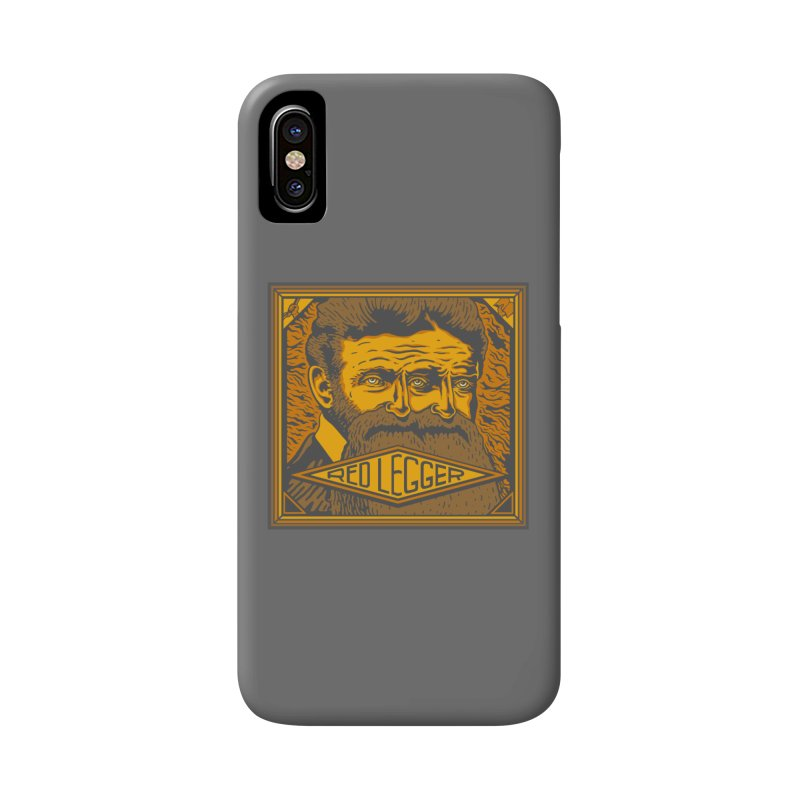 Red Legger - John Brown Accessories Phone Case by redleggerstudio's Shop