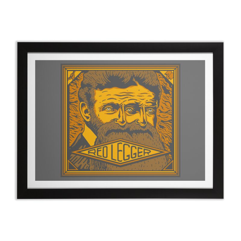 Red Legger - John Brown Home Framed Fine Art Print by redleggerstudio's Shop