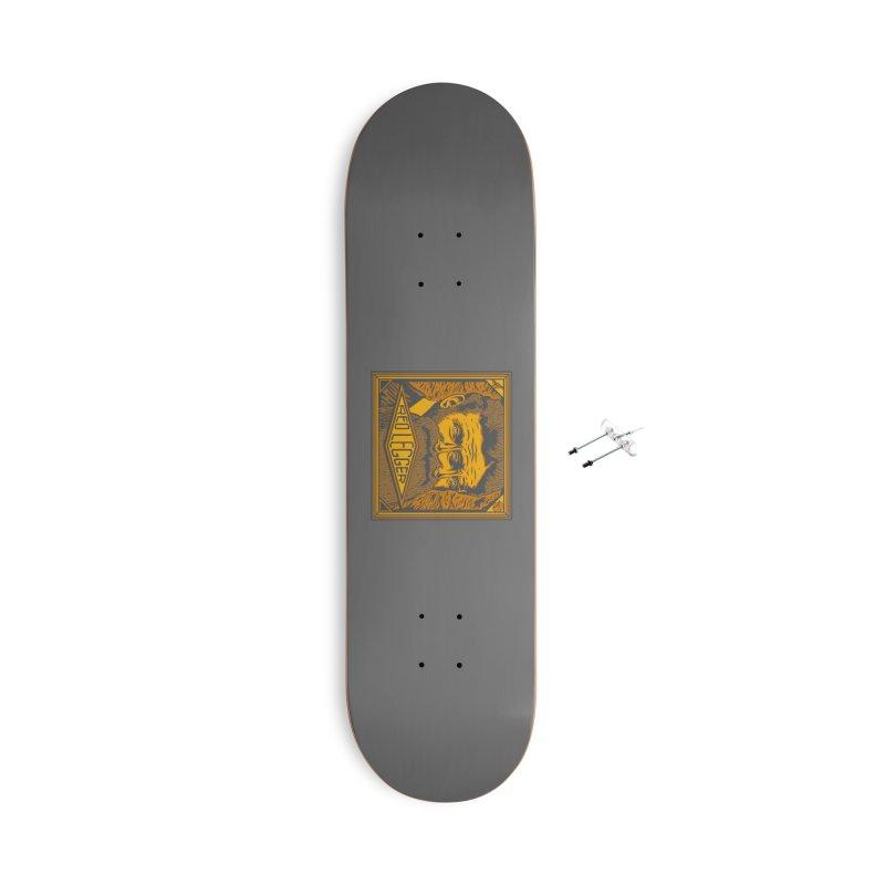 Red Legger - John Brown Accessories With Hanging Hardware Skateboard by redleggerstudio's Shop