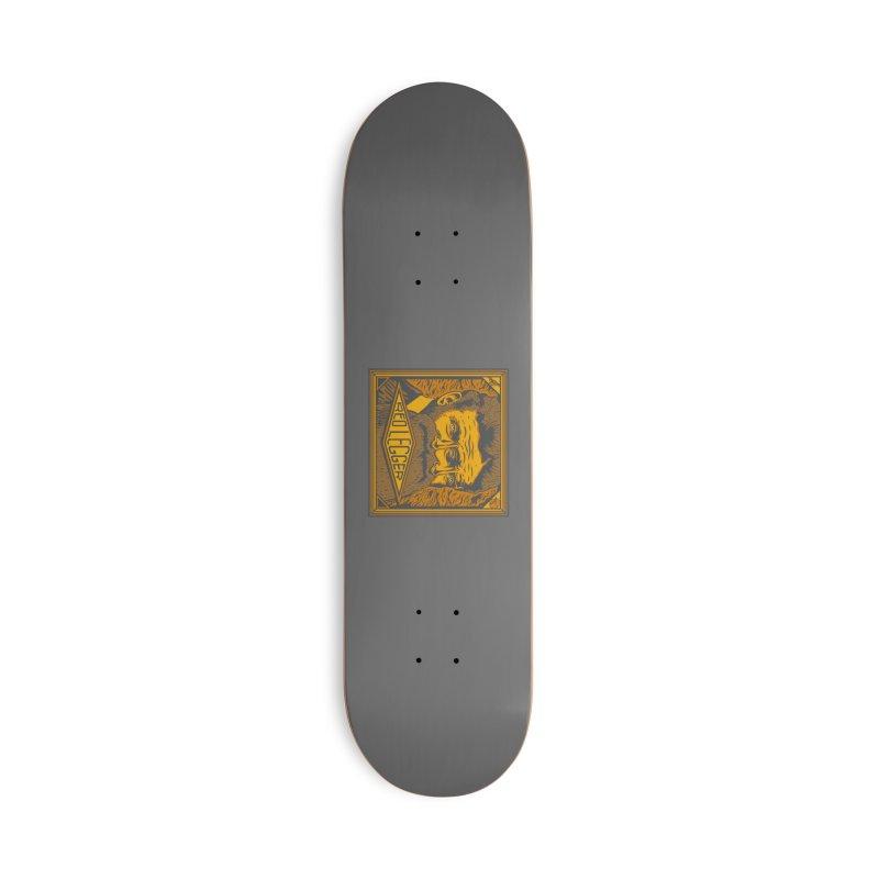 Red Legger - John Brown Accessories Deck Only Skateboard by redleggerstudio's Shop